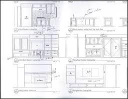 Kitchen Cabinet Diagram Exellent Kitchen Cabinets Elevations Cool Elevation Cad Autocad
