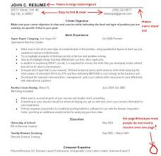 Resume Layout Example Sample Resume Layout Resume Layouts Rules And Variations In
