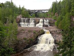 Minnesota waterfalls images Two harbors minnesota hiking travel jpg
