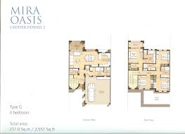 4 bed floor plans floor plans mira oasis reem by emaar