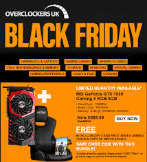 gaming chair black friday overclockers uk reveal black friday sale deals eteknix