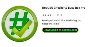 su apk root su checker busy box pro mod apk android