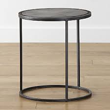 Iron Side Table Iron Side Tables Crate And Barrel