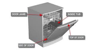 Whirlpool Dishwasher Clean Light Blinking Dishwasher Lights Flashing Or Blinking Repair Parts