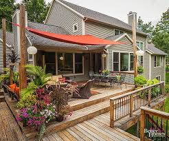 Traditional 10 Backyard Veranda Ideas On Covered Patio Backyard by Shade Solutions For Outdoor Rooms 10 Years Decking And Patios