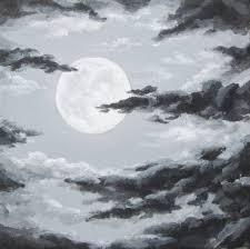 lunar cloud pencil and in color lunar cloud