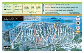 Europe Mountains Map by Pajarito Mountain Ski Area Trail Map