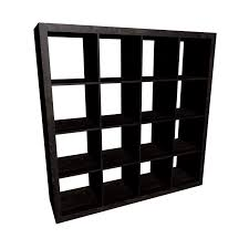 expedit shelving unit black brown design and decorate your room