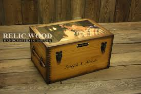 wedding gift keepsake box custom large keepsake box