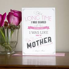 marilyn monroe quote mother u0027s day card by lovely cuppa