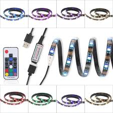 Wireless Led Strip Lights by 0 5m 3 5w 15 Led Usb Flexible Rgb Led Strip Light Smd5050 Rf Sales