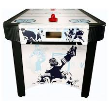harvil 5 foot air hockey table with electronic scoring harvil carmelli 5 foot electronic air hockey table ng1009