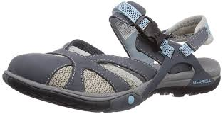 womens grey boots sale merrell azura wrap s athletic and outdoor sandals grey shoes