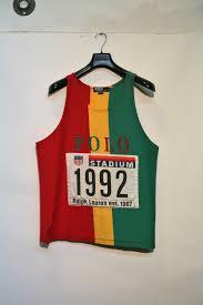 Jamaican Flag Shirt Vintage Ralph Lauren Show