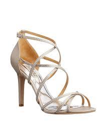 wedding shoes australia badgley mischka meghan silver