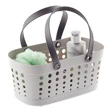 Bathroom Caddy For College by Shower Tote Grey Flexible Shower Tote By Casabella The