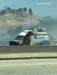 Wildfire Jumps California Freeway Torches Cars by June 2017 Nw Fire Blog