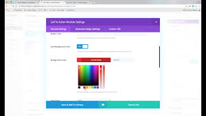 How To Change The Default Color Palette In The Divi Theme Options Web Page Color Picker
