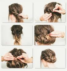 Frisuren Selber Machen Halblange Haare by Einfache Frisuren Kurze Haare Selber Machen Acteam