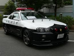 nissan japan the legendary nissan skyline gt r police car in japan sherdog