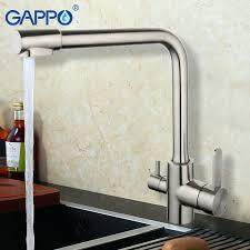 moen kitchen faucet with water filter faucet kitchen faucets with built in water filtration gappo 1set