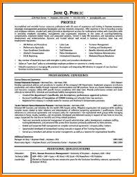 hr resume templates human resource resume exles best of human resource sle