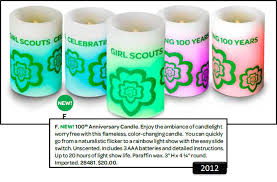 scout light show scout candles