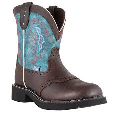 ladies black leather biker boots justin ladies gypsy 8