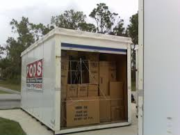 large size moving and storage container unit with simple portable