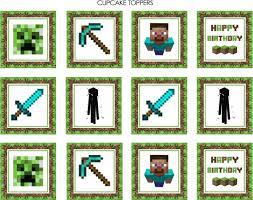 minecraft cupcake ideas the best minecraft party ideas for the ultimate minecraft party