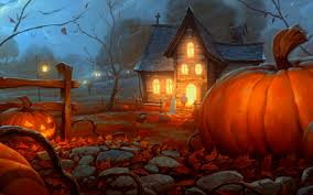 decorative sparkly halloween background halloween wallpapers free downloads group 80