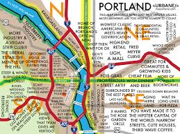 City Of Portland Maps by City Of Portland Neighborhoods Map My Blog