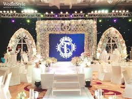 luxury wedding planner wedding stage luxury wedding by wedinstyle the stylish wedding