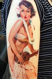 strike a pose with pin up tattoos tattoo articles ratta