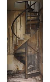 home design antique wooden spiral staircase industrial expansive