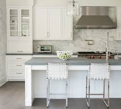 new york countertop material options kitchen transitional with