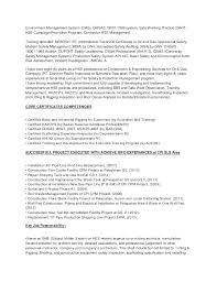 Security Resume Objective Examples by Offshore Resume Objective Contegri Com