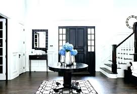 Black Foyer Table Black Foyer Table Modern Style Black Table With Open Base