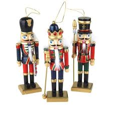 wooden nutcracker soldier ornaments 5 3 4 inch 3