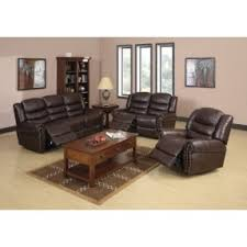 Leather Sofa And Chair Set Reclining Leather Sofa And Loveseat Set Foter