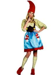 Size Womens Halloween Costumes Ms Gnome Costume Size Funny Halloween Costumes