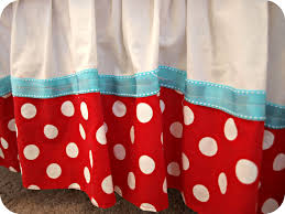 Polka Dot Curtains Nursery by Lizzie U0027s Aqua And Red Nursery Simply Swider