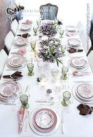 Formal Table Settings Silver Table Setting Pastel Formal Table Setting By Silver