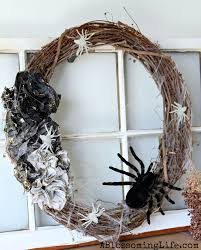 How To Make Halloween Wreaths by Diy Ombre Halloween Spider Wreath