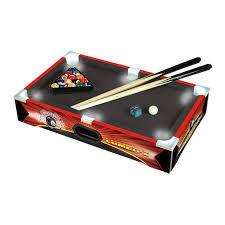 triumph sports pool table triumph sports usa 20 pool table with led light walmart com