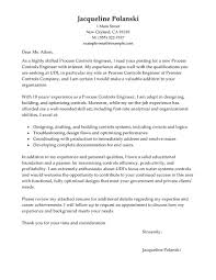 best process controls engineer cover letter examples livecareer