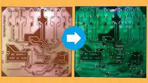 design your own green home create your own pcb green solder mask at home youtube