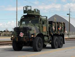 tactical truck us marine corps amk23 cargo truck with sixcon fuel modules u2026 flickr
