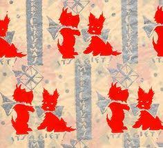 vintage christmas wrapping paper rolls vintage christmas boyds bears christmas gift wrap wrapping paper