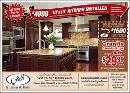 Kitchen Furniture Stores In Nj by Cabinet U0026 Countertop Installation Coupons Mt Laurel Nj C U0026s